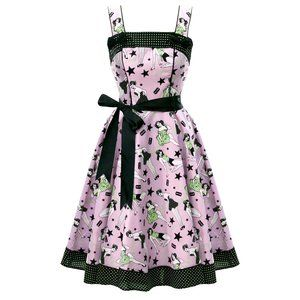 Hell Bunny 50s style Pin Up Girls dress - Small